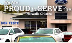 Come test drive a new or used Ford at Don Tester Ford Lincoln, your Norwalk area Ford dealer!