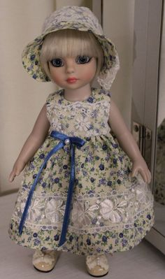 Patsy blue floral