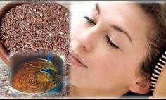 Agua de linaza para ponerle freno a la caída del cabello