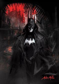 Witch Hunter Batman, André Meister