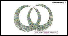 DIY Colorful Yarn Earrings Tutorial