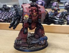 Mark Bedford - Word Bearers - Leviathan Dreadnought