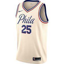 12f9eab64 Nike 2017 NBA Philadelphia Sixers 76ers Ben Simmons Swingman Jersey  SZ S-2XL Ben
