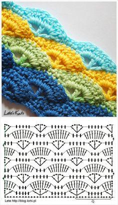 {tutorial} pretty blanket pattern