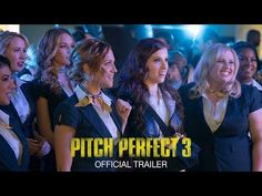 """The Bellas are back in the first full trailer for """"Pitch Perfect the third film in Universal's a cappella musical comedy franchise. Twenty One Pilots, Hd Movies, Movie Tv, Watch Pitch Perfect, Harley Quinn, Anna Kendrick Pitch Perfect, Johnny English, Anna Camp, Pretty Hurts"""