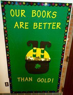 Cute St. Patrick's Day bulletin board