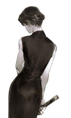 Character Inspiration, Character Art, Beautiful Anime Girl, Anime Art Girl, Chinese Art, Asian Art, Cute Drawings, Female Art, Fantasy Art