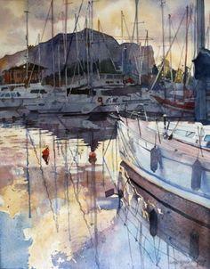 Palermo - Watercolor Paintings by Anna Orlowska  <3 <3
