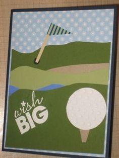 Birthday Card Golf By Obeewright
