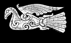 Viking Raven T-shirt - front Viking Raven, Viking Art, Viking Ship, Norse Tattoo, Viking Tattoos, Armor Tattoo, Warrior Tattoos, Viking Designs, Celtic Designs