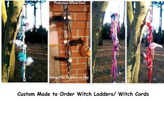 Custom Made to Order Witch Ladder/Cord ~ Home Blessing, Home Protection, Love, Prosperity, Health, Divination by VintageChicCauldron on Etsy