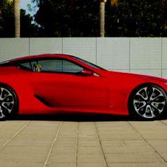Lexus LF-LC hybrid car