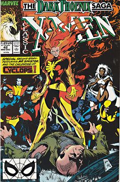 JOHN BYRNE this was issued in Dark Phoenix Saga. Buy it for the story, buy it for the art, buy it cause you love it. and art so far. and art online. Graphic Illusion Comics and Art. Comic Book Characters, Comic Book Heroes, Marvel Characters, Comic Books Art, Comic Art, Book Art, Marvel Comic Universe, Comics Universe, X Men