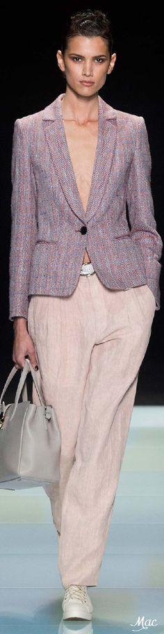 Giorgio Armani Spring 2016 (Menswear Collection)
