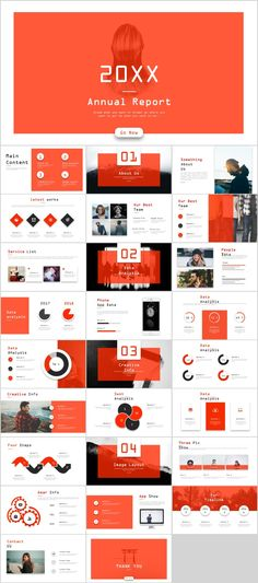 Business infographic : 27 Red Annual analysis report PowerPoint template on Behance Simple Powerpoint Templates, Powerpoint Slide Designs, Professional Powerpoint Templates, Powerpoint Template Free, Keynote Template, Report Template, Corporate Presentation, Presentation Design, Presentation Slides