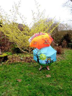 Forêt de parapluies