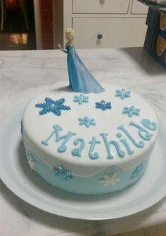 Gâteau Reine des Neiges                                                                                                                                                                                 Plus