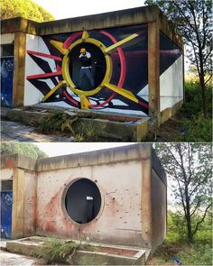 Odeith is a street artist from Damaia, Portugal. Odeith makes realistic drawings using graffiti art. 3d Street Art, 3d Street Painting, Street Art Graffiti, Street Artists, Art Mural 3d, Graffiti Murals, 3d Wall Art, Graffiti Lettering, Graffiti Artists
