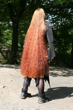 Really Long Hair, Long Red Hair, Super Long Hair, Thick Hair, Beautiful Long Hair, Gorgeous Hair, Red Heads Women, Rapunzel Hair, Hair Reference