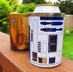 These ARE the droids you've been searching for. | Buy these Star Wars coozies now at totalwine.com #droids #coozie #StarWars