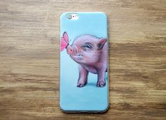 Pig phone case for iphone 6/ 6S and iPhone 6 /6S by MimoCadeaux