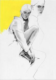 Courrèges look, by Richard Kilroy for Numéro Magazine