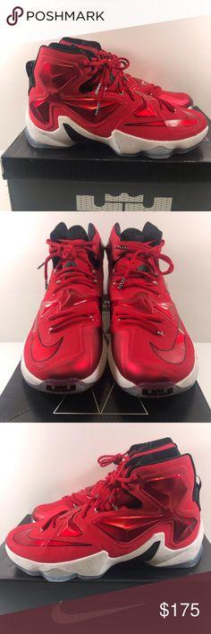 8b2efd4a14d47 Nike Lebron 13 XIII Men's Shoes 807219-610 Nike Lebron 13 XIII Men's  Basketball Shoes