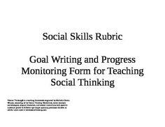 social language and pragmatic rubrics the speech bubble