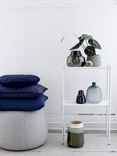 New Nordic <3 Create a beautiful look by combining blue and green tones