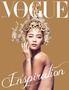 Style for 1st issue of voguethailand