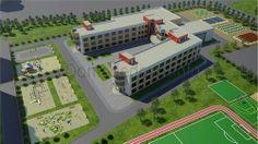 Первый детский сад на 135 мест и общеобразовательную школу на 550 мест планируется возвести до 3 квартала 2014 г. в составе первой очереди строительства комплекса «Новое Домодедово» - сообщает официальный сайт компании-застройщика.