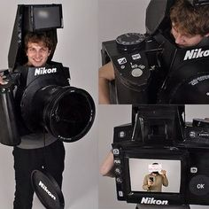 DIY Fully Functional Halloween Camera Costume