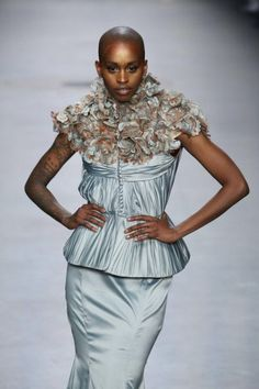 Haute Couture Fabrics from Plastic Waste. Monique Maissan and Waste2Wear fabrics were recently featured in the haute couture collection that opened Mercedes-Benz Fashion Week in Amsterdam.