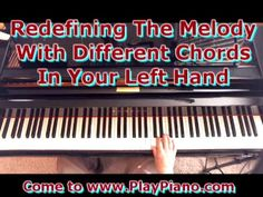 Changing Chords Beneath The Melody For a Fresh Sound