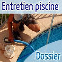 Entretien Piscine. Nettoyage. Maintenance. Un dossier détaillé pour entretenir sa piscine, avec des exemples et des vidéos. Suivez le guide!