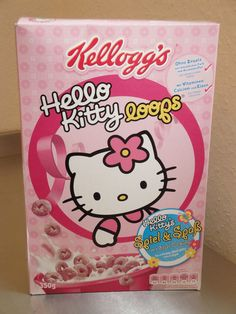 Hello Kitty cereal.