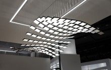 futuristic light fixtures - moving lights