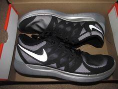 Nike FREE 5.0 Flash Running Shoes Mens 11.5 Black Reflective Silver 685168 001 #Nike #RunningCrossTraining