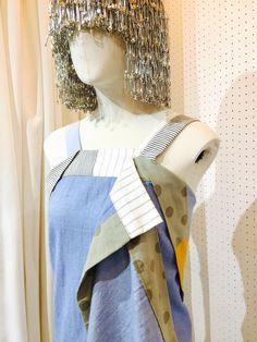 SRITALA : DENIM PATCH DRESS#remakeclothes #ream #sritala #changchui #changchuibkk #bangkok #thailand #dress