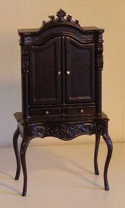 Bespaq Lady's Secretary in Dollhouse Furniture | eBay