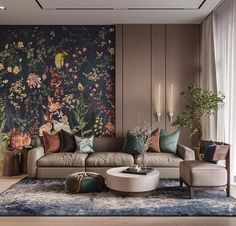 Write the first thing your eye fell on Interior Design: @ lesya. - Design Cointrend News Living Room Trends, My Living Room, Living Room Designs, Living Room Decor, Bedroom Decor, Living Room Modern, Simple Interior, Home Interior Design, Interior Decorating