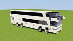 Marcopolo Paradiso Bus Minecraft Project - Minecraft World Minecraft Bauwerke, Minecraft Modern City, Minecraft Villa, Construction Minecraft, Minecraft City Buildings, Capas Minecraft, Minecraft Mansion, Easy Minecraft Houses, Minecraft House Tutorials