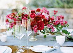 Valentines Day Dinner Celebration  Read more - http://www.stylemepretty.com/2014/02/14/valentines-day-dinner-celebration/