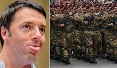Renzi si presenta ai Comparti con la brioche, e la carota..