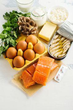 Vitamin D recich Lebensmittel