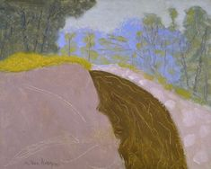 I like the quantity of dirt in this painting, though the colors feel off.