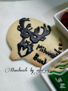 #handmade_by_adni #handmade #decoration #homemade #sugarcookies #icingcookies #icing #icingart #milwaukee #bucks