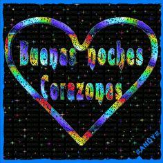 corazones, buenas noches