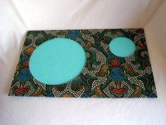 Jogo Americano Mosaico Verde - bem versátil, pode ser usado pra deixar a mesa mais colorida nas refeições ou como apoio pra quem prefere comer no sofá! www.munayartes.com #munayartes #elo7 #foradesérie #feitoamao #handmade #artesanato #craft #homedecor