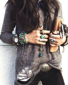 Ohhhh....Turquoise Love.... Boho Accessories